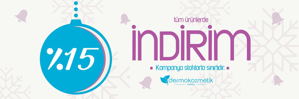 15 indirim