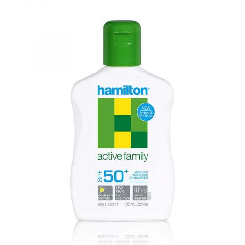 Hamilton Active Family Losyon SPF50+, 125ml (Hamilton)