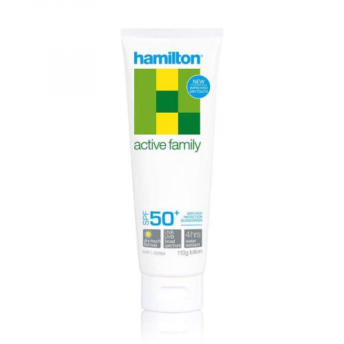 Hamilton Active Family Lotion SPF50+, 110 g (Hamilton)