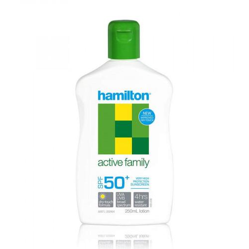 Hamilton Active Family Lotion SPF50+, 250ml (Hamilton)