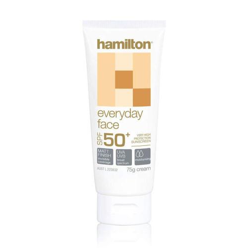 Hamilton Everyday Face SPF50+, 75 g (Hamilton)
