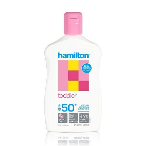 Hamilton Toddler Lotion SPF50+, 250 ml (Hamilton)