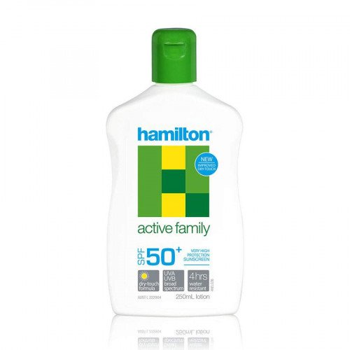 Hamilton Active Family Lotion SPF50+, 250ml (Hamilton)
